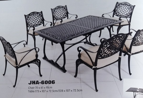 Delima Cast Aluminum Dining Set