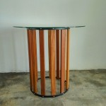 Balau Wood Round Table , KTS-12