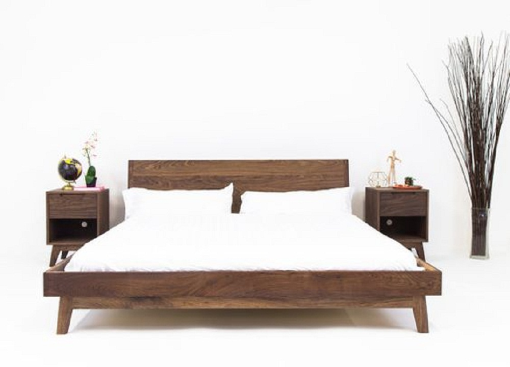 Teak wood bed set bedroom furniture bed side table teak wood beds Wooden bed furniture