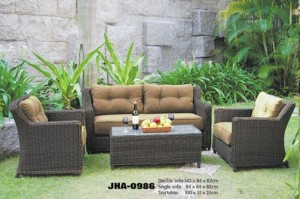 Royal Rattan Sofa Set