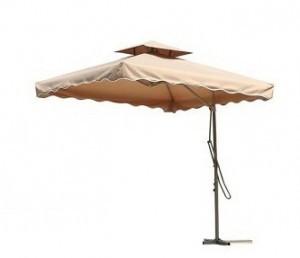 Ivory Garden Umbrella Side Pole