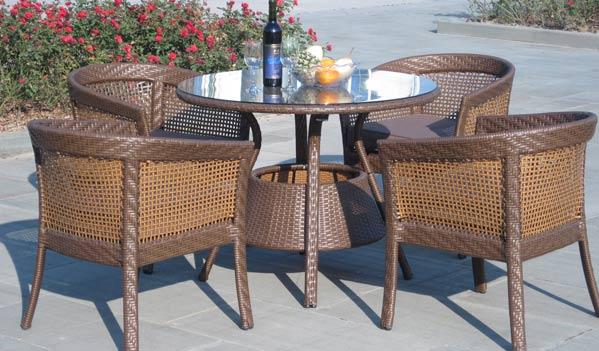 Modern Wicker Dining Furnitures