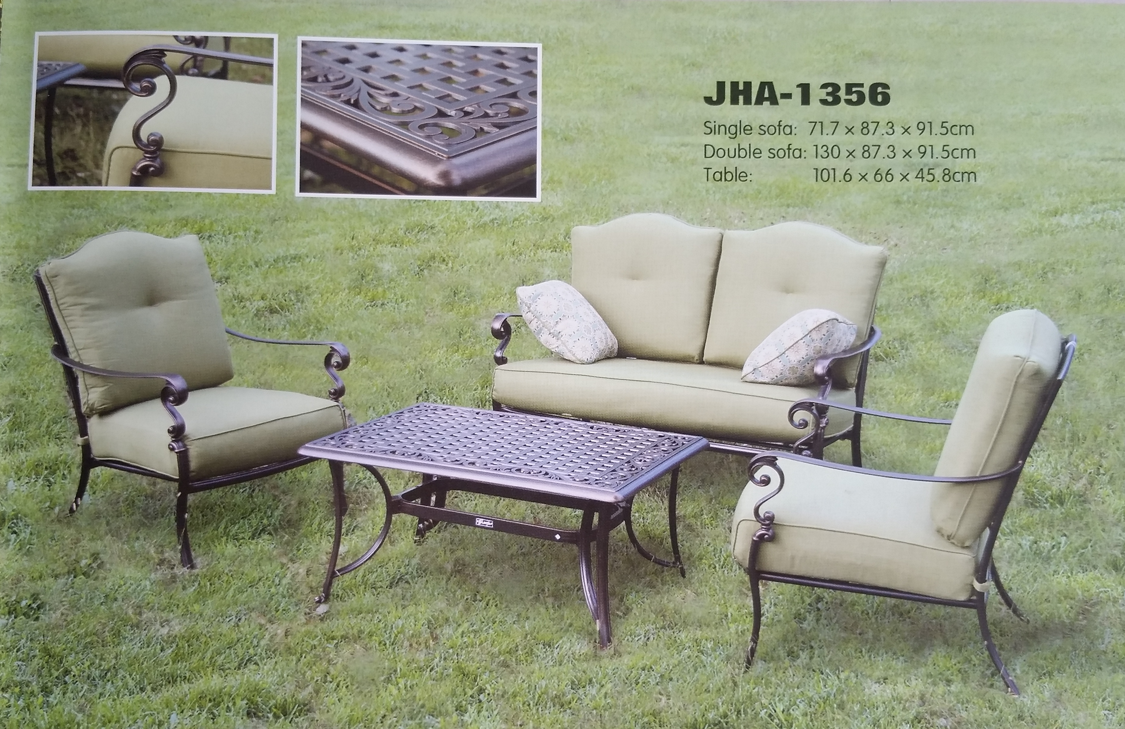Lawn Furniture Manufacturer We are the lawn furniture manufacturer, had hundreds of satisfied customers in our list, decon is a renowned brand in lawn furniture, supply all commercial and residential projects for more than fifteen years, drop by our showroom at Damansara Perdana to view all our amazing collection of lawn furniture.