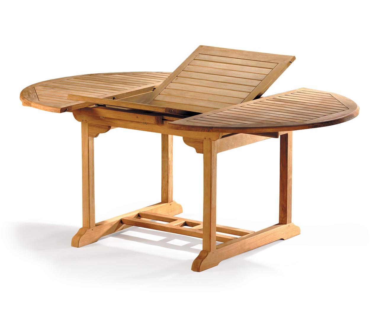 Brampton Extending Teak Table