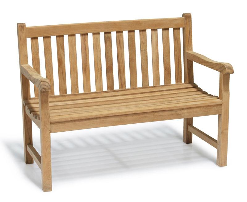 teakwood bench