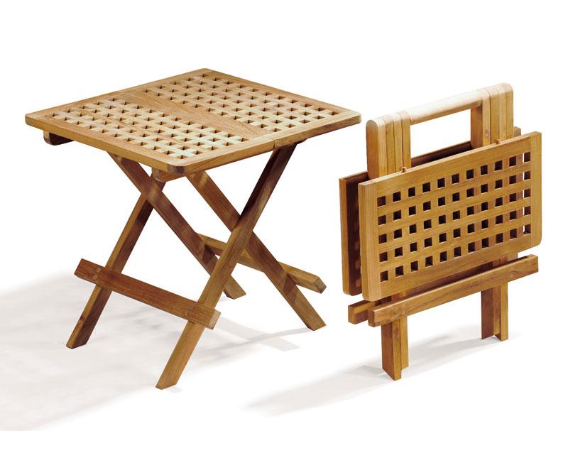 Folding Square Picnic Table