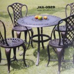 Delima Cast Aluminum Round Dining set  JHA-0929