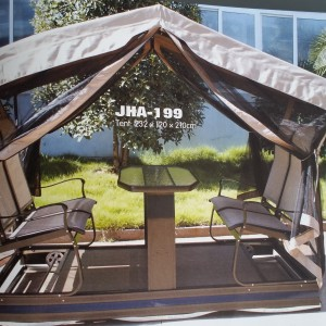 Swing Double Chairs with Canopy