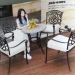 Cast Aluminum Dining Set,  JHA-6005