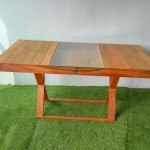 Balau Wood Cafe Table , KTS-06