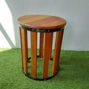 Balau Wooden Stool