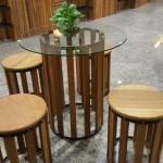 Balau Restaurant Furniture , KTS-11