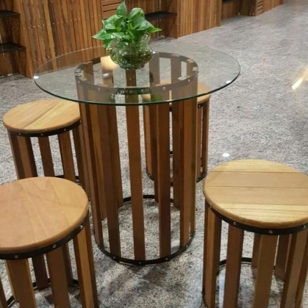 Balau Restaurant Furniture