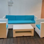 Outdoor Wicker Sofa  , JF-01