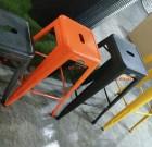 Metal stool's on sale