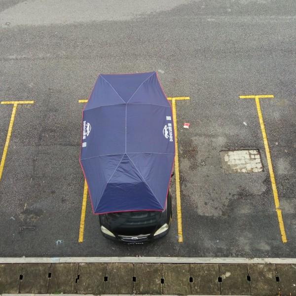 decon car tent